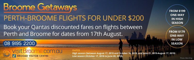 Broome Qantas Flights Under $200Broome Qantas Flights Discounted airfares